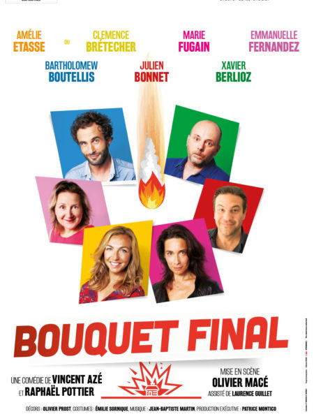 affiche Bouquet final theatre nouvelle scene
